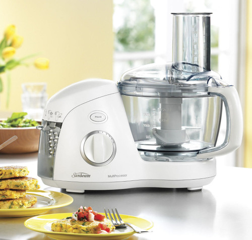 Sunbeam LC6250 MultiProcessor™ 1.75L Food Processor with Attachment Storage
