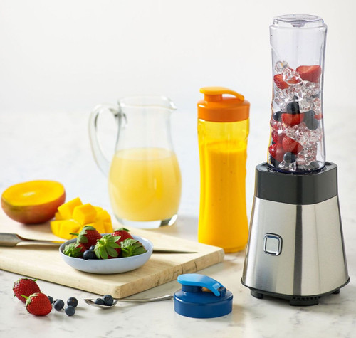 Sunbeam PB2000 Blender On The Go Personal Blender with 2x 600ml BPA Free Bottles