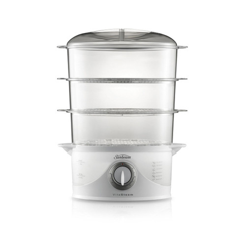 Sunbeam ST6650 VitaSteam™ Food Steamer for Seafood Poultry Vegetables Rice Eggs