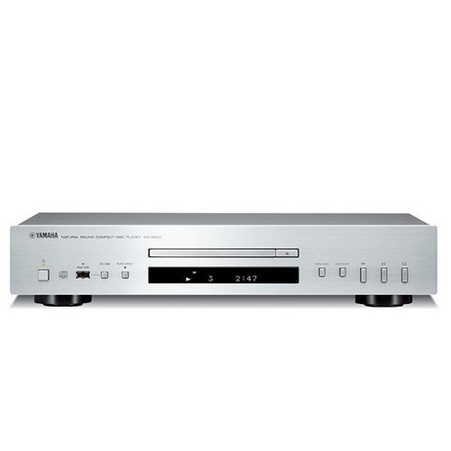 Yamaha CD-S300 Single Disc CD Player with Pure Direct - Silver - RRP $529.00