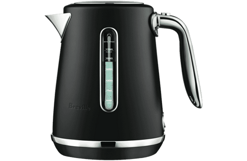 Breville BKE735BTR Soft Top Luxe 1.7L Cordless Electric Kettle - Black Truffle