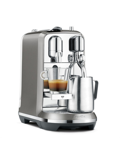 Breville BNE800SHY Nespresso Creatista Plus - Smoked Hickory