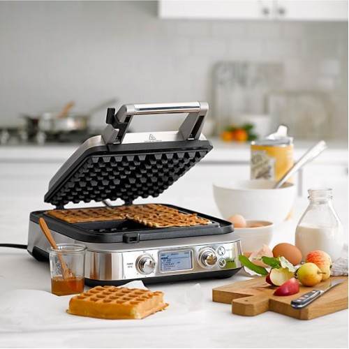 Breville BWM640BSS the Smart Pro 4-Slice Belgian Waffle Maker - Stainless Steel