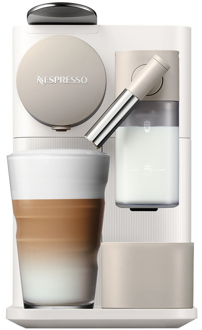 DeLonghi EN500W Nespresso Delonghi Lattissima One Capsule Machine - White