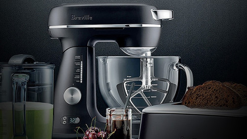 Breville BEM823BTR The Bakery Boss Bench Mixer - Black Truffle - RRP $699.00