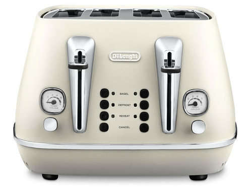 Delonghi KBI2001/CTI4003W Distinta Kettle & Toaster Pack - White - HURRY LAST 5!