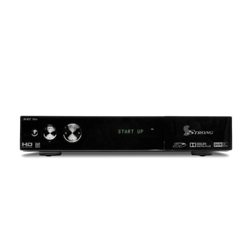 Strong SRT 7014 Twin Tuner Set-Top Box with Smart Phone Connectivity