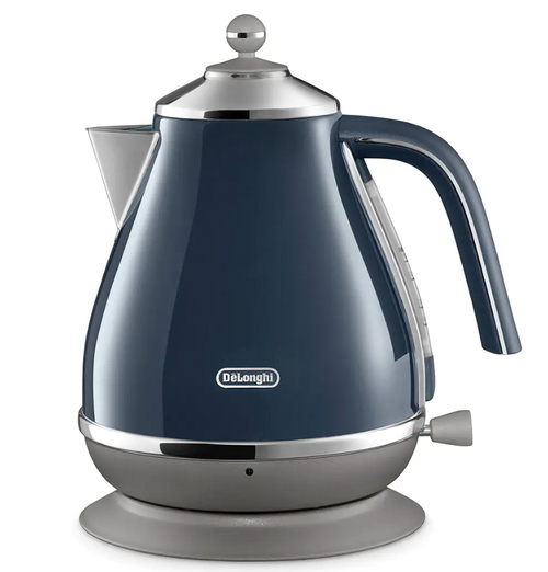 Delonghi CTOC4003BL KBOC2001BL Icona Capitals Toaster + Kettle PACK - London Blue - RRP $308.00