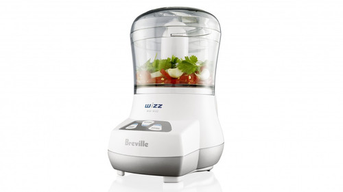 Breville BFP100WHT the Mini Wizz Compact 250W Food Processor - White