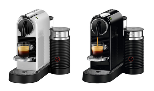 Delonghi EN267BAE EN267WAE Citiz & Milk Nespresso Machine - Black - White