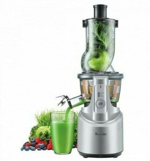 Breville BJS700SIL the Big Squeeze™ Slow Compression Juicer - Silver