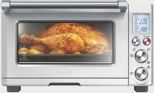 Breville BOV850BSS the Smart Pro 2400W Convection Oven With Element IQ Heat Tech