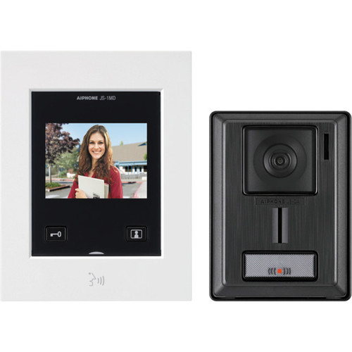 Aiphone JSSIA 3.5 Inch IP54 Video Intercom System with Microphone