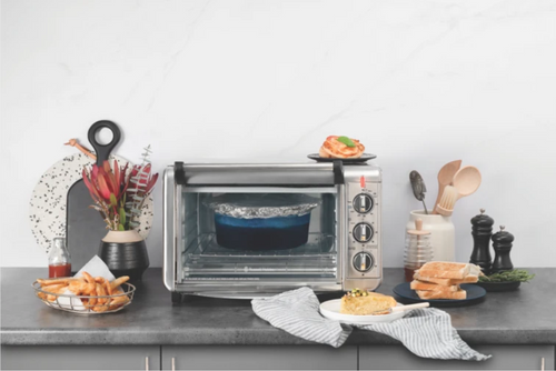 Russell Hobbs RHTOV25 Air Fry Crisp' N Bake 20L Toaster Oven with 60 Min Timer