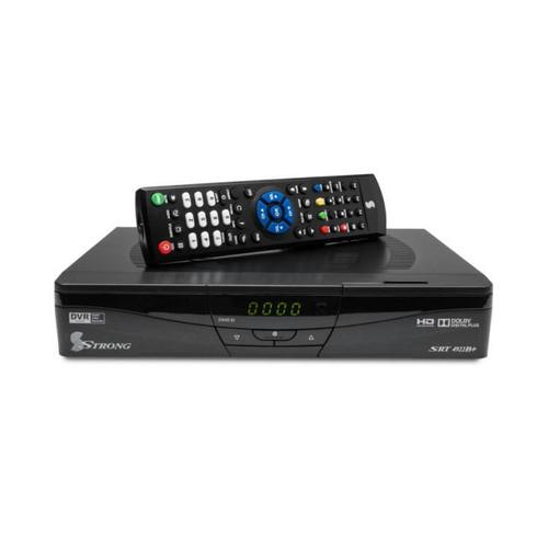 Strong SRT4922D+ Mpeg4, Dvbs2 HD Sat Receiver UHF Modulator - 4 x USB