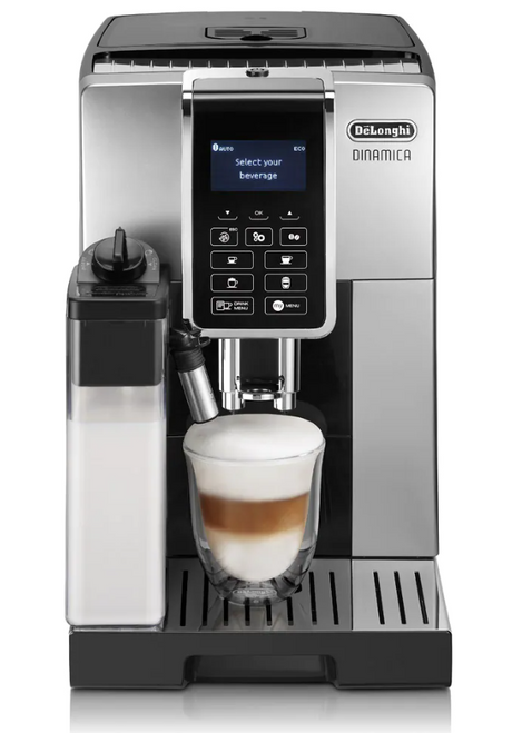 Delonghi ECAM35055SB Dinamica Fully Automatic Coffee Machine -Silver