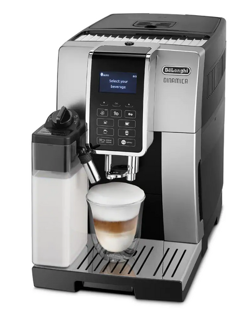 Delonghi ECAM35055SB Dinamica Fully Automatic Coffee Machine -Silver