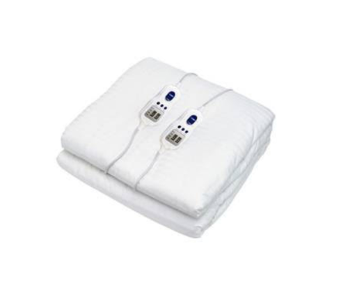 Bambi EBCOTMMIS Long Single Electric Blanket Cotton Sateen with Timer Control