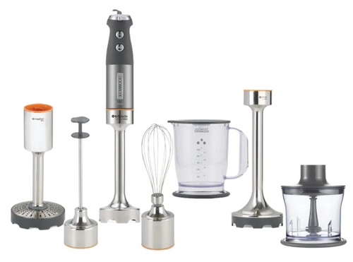 Kenwood HDM808SI Triblade SystemPro 1000W Hand Blender - Silver