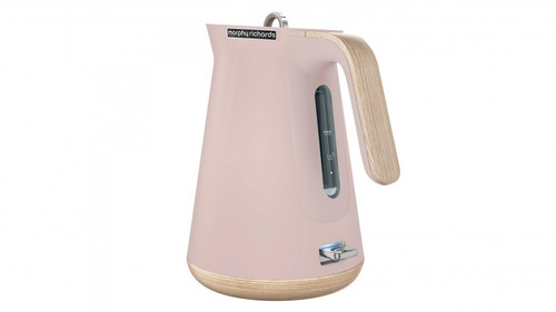 Morphy Richards 100012 Scandi 1.5L BPA Free Aspect Kettle - Dusty Pink