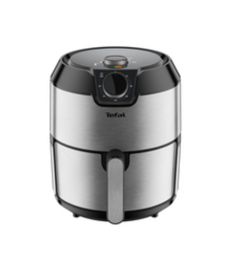 Tefal EY201D Easy Fry Classic Hot Air Fryer with 4.2L Capacity- Stainless Steel