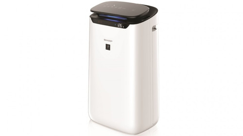 Sharp FX-J80J-W FX80 Plasmacluster Ion Air Purifier with 62m2 Range