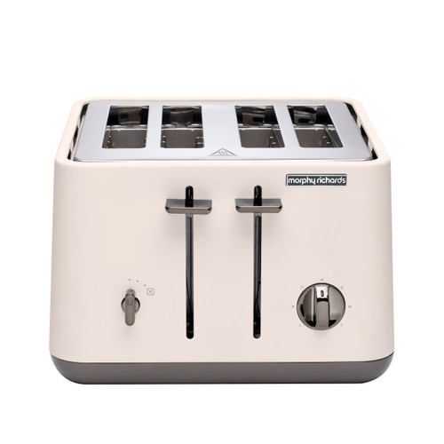 Morphy Richards 240026 Aspect Black Chrome 1880W 4 Slice Toaster – Nude