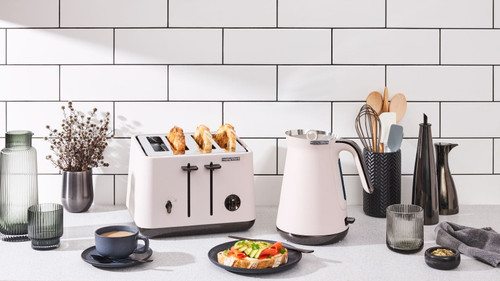 Morphy Richards 100026 240026 Aspect Kettle & Toaster Pack - Nude