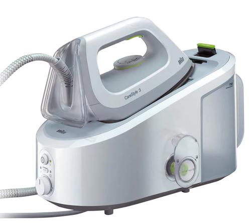 Braun IS3022WH 2L 2400W CareStyle 3 Steam Generator Iron - White
