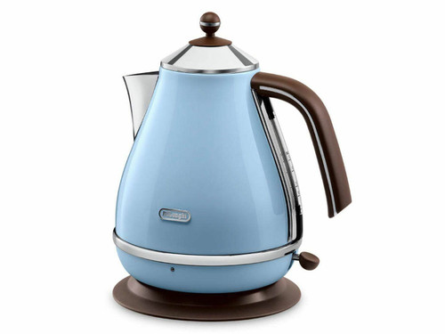 DeLonghi KBO2001VAZ 2000W Icona Vintage Electric Kettle  - Sky Blue