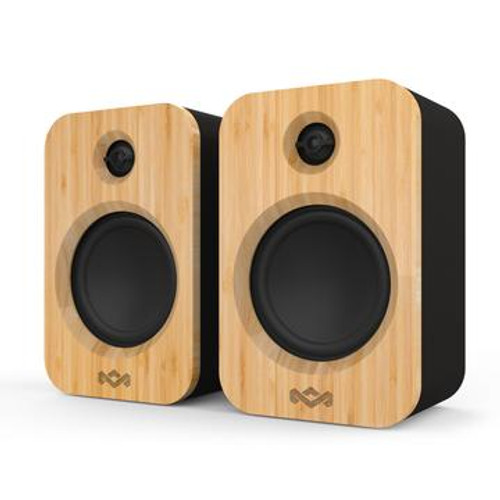 House of Marley EMJA019SB Get Together Duo Mini Portable Bluetooth Speaker