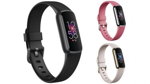 Fitbit FB422BKBK/FB422GLWT/FB422SRMG Luxe Fitness Tracker - Black/White/Orchid