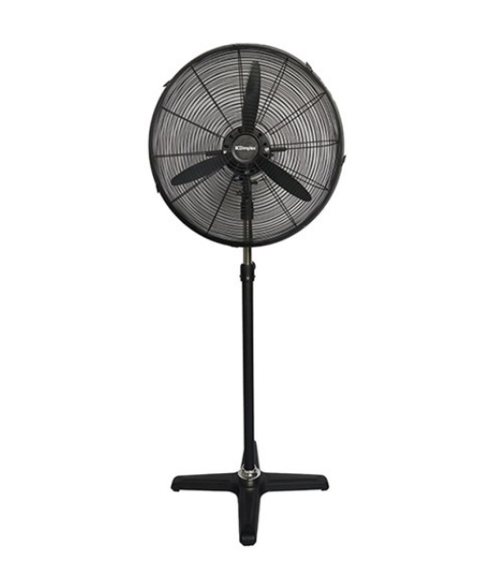 Dimplex DCPF50MB 50cmHigh Velocity Pedestal Fan with 3 Speed Settings - Black