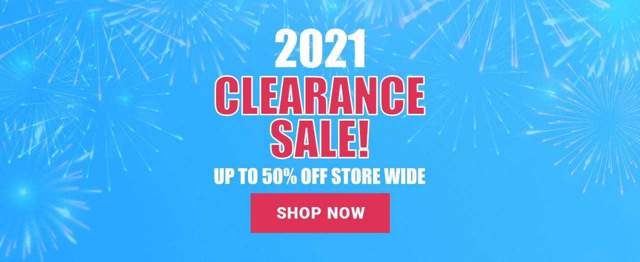2021 Clearance Sale