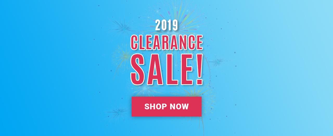 2019 Clearance Sale!