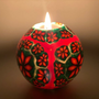 Glow in Dark, Art Crafted, Custom, Handmade,  Natural Fragrance Candle Ball