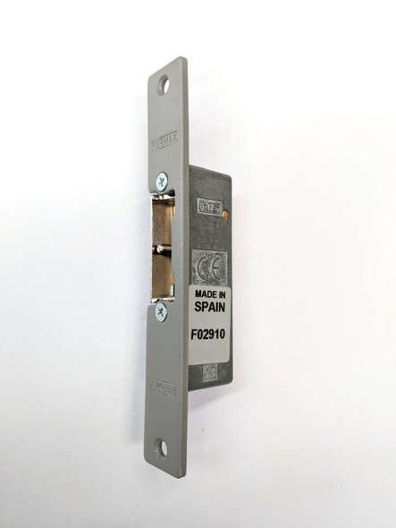 12Vac 300 Series Flush Mount Automatic w. Unlocking Lever Short Shield