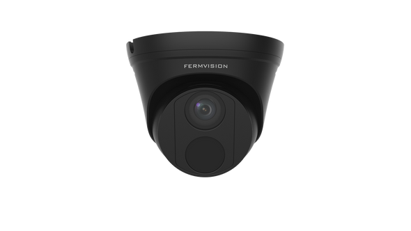 8MP IP Dome (Black) Camera