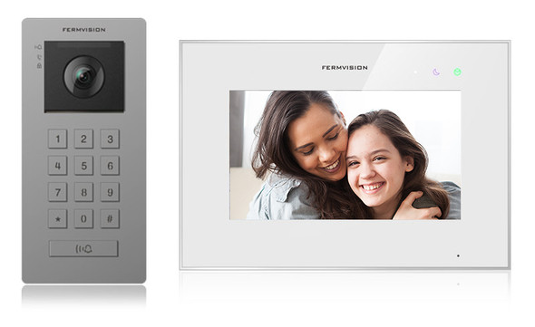 Qseries 2-Wire Video Intercom w. Keypad Kit