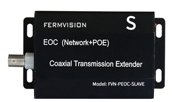 Power Ethernet Over Coax, 1 Output Module (SLAVE)