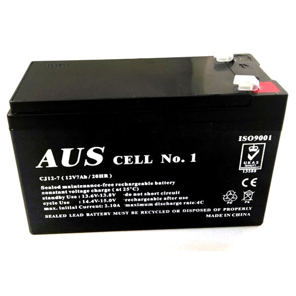 12Vdc 7Ah Alarm Battery