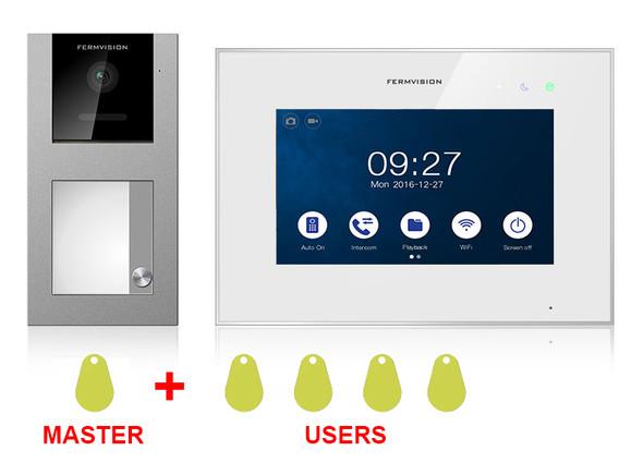 Qseries 2-Wire Video Intercom w. Proximity Kit