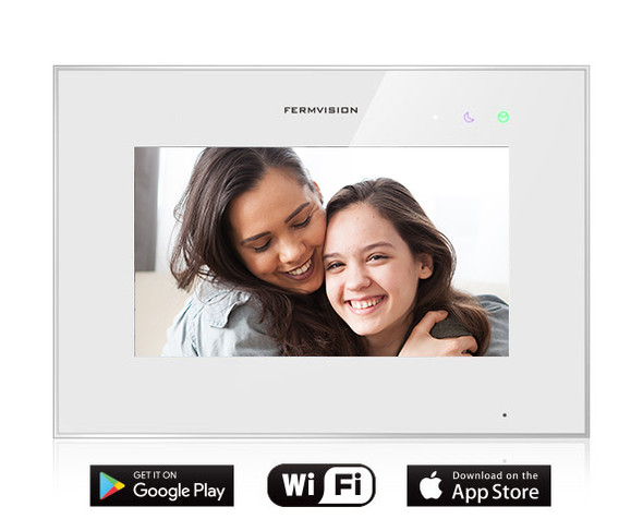 Qseries 2-Wire Extra Wifi Monitor With Memory For App Connectivity