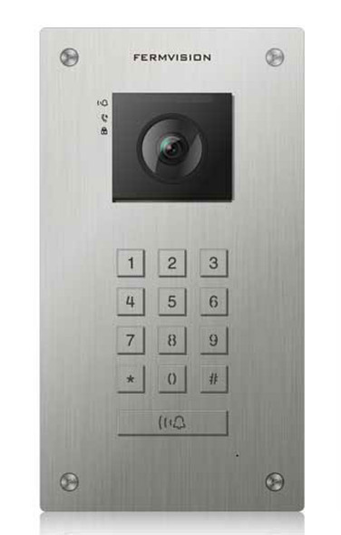 Qseries 2-Wire Flush Keypad Door Station