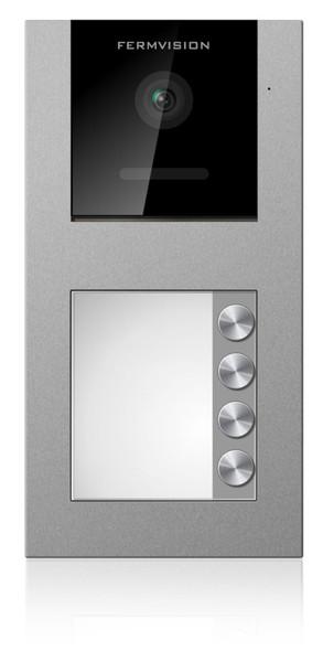 Qseries 2-Wire 4 Push Apart Door Station - No Prox