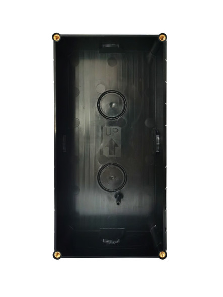 Qseries 2-Wire Backing Box For Flush Keypad Door Station