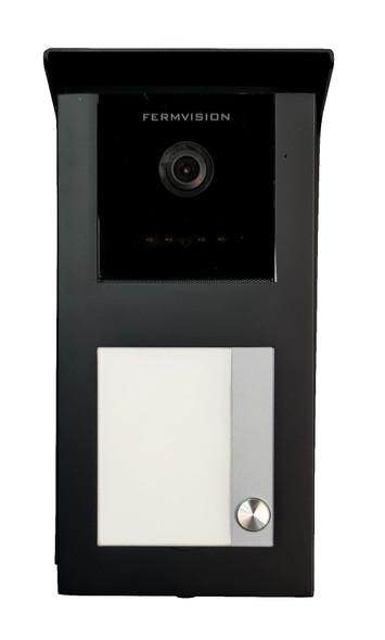 Qseries 2-Wire Black Door Station