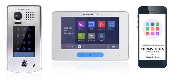 2-Wire Video Intercom w. Keypad IP App Kit