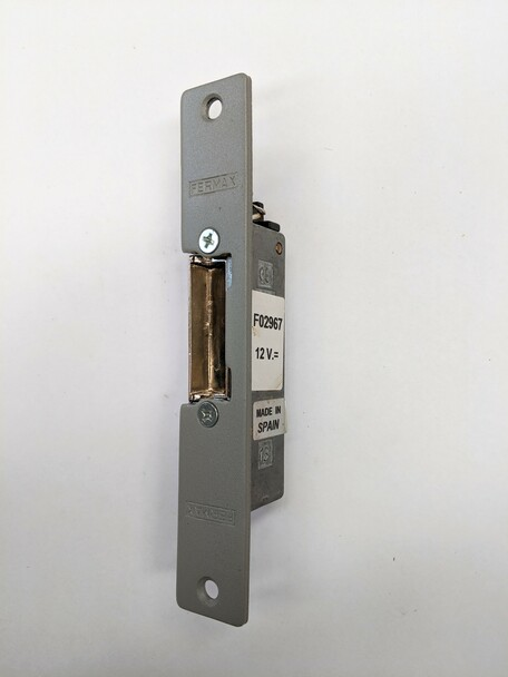 12Vdc 300 Series Flush Mount Fail Safe Short Shield
