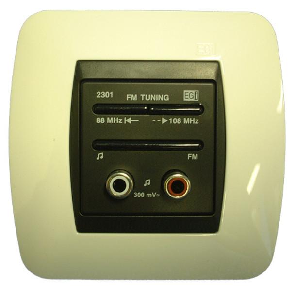 Harmony Controller with FM Radio and Audio Input
